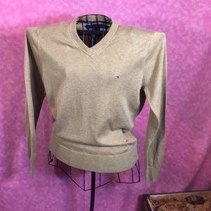 Tommy Hilfiger Beige Sweater! Size SP